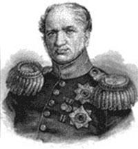 Министр финансов России Е.Ф. Канкрин.