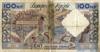 100 Новых Франков выпуска 1959 года, Алжир. Подробнее...