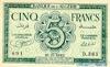 5 Франков выпуска 1942 года, Алжир. Подробнее...
