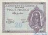 20 Франков выпуска 1943 года, Алжир. Подробнее...