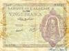 20 Франков выпуска 1945 года, Алжир. Подробнее...