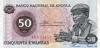 50 Кванз выпуска 1976 года, Ангола. Подробнее...