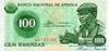 100 Кванз выпуска 1976 года, Ангола. Подробнее...