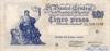 5 Песо выпуска 1959 года, Аргентина. Подробнее...