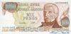 1000 Песо выпуска 1976 года, Аргентина. Подробнее...