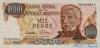 1000 Песо выпуска 1977 года, Аргентина. Подробнее...