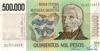 500000 Песо выпуска 1980 года, Аргентина. Подробнее...
