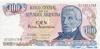 100 Песо выпуска 1983 года, Аргентина. Подробнее...