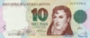 10 Песо выпуска 1992 года, Аргентина. Подробнее...