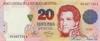 20 Песо выпуска 1992 года, Аргентина. Подробнее...