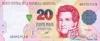 20 Песо выпуска 1993 года, Аргентина. Подробнее...