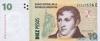 10 Песо выпуска 2002 года, Аргентина. Подробнее...