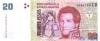 20 Песо выпуска 2002 года, Аргентина. Подробнее...