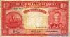 10 Шиллингов выпуска 1936 года, Багамы. Подробнее...
