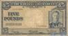 5 Фунтов выпуска 1936 года, Багамы. Подробнее...