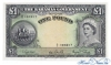 1 Фунт выпуска 1953 года, Багамы. Подробнее...