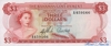 3 Доллара выпуска 1965 года, Багамы. Подробнее...