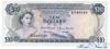 10 Фунтов выпуска 1968 года, Багамы. Подробнее...
