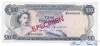 10 Долларов выпуска 1968 года, Багамы. Подробнее...