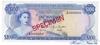 100 Долларов выпуска 1968 года, Багамы. Подробнее...