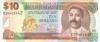 10 Долларов выпуска 1998 года, Барбадос. Подробнее...
