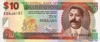 10 Долларов выпуска 2000 года, Барбадос. Подробнее...