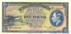 1 Фунт выпуска 1937 года, Бермуды. Подробнее...