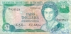 2 Доллара выпуска 1988 года, Бермуды. Подробнее...