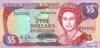 5 Долларов выпуска 1989 года, Бермуды. Подробнее...