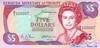5 Долларов выпуска 1992 года, Бермуды. Подробнее...