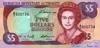 5 Долларов выпуска 1996 года, Бермуды. Подробнее...