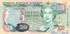 20 Долларов выпуска 2000 года, Бермуды. Подробнее...