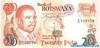 20 Пул выпуска 1997 года, Ботсвана. Подробнее...