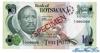 10 Пул выпуска 1976 года, Ботсвана. Подробнее...