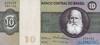 10 Крузейро выпуска 1970 года, Бразилия. Подробнее...