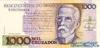 1000 Крузадо выпуска 1987 года, Бразилия. Подробнее...