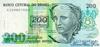 200 Крузейро выпуска 1991 года, Бразилия. Подробнее...