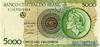 5.000 Крузейро выпуска 1992 года, Бразилия. Подробнее...