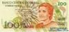 100 Крузейро выпуска 1990 года, Бразилия. Подробнее...