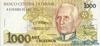 1000 Крузейро выпуска 1990 года, Бразилия. Подробнее...
