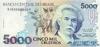 5000 Крузейро выпуска 1992 года, Бразилия. Подробнее...