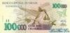 100000 Крузейро выпуска 1992 года, Бразилия. Подробнее...