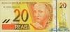 20 Крузейро выпуска 2002 года, Бразилия. Подробнее...