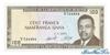 100 Франков выпуска 1973 года, Бурунди. Подробнее...