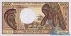 5000 Франков выпуска 1983 года, Камерун. Подробнее...