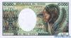 10000 Франков выпуска 1990 года, Чад. Подробнее...