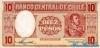 10 Песо выпуска 1958 года, Чили. Подробнее...