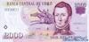 2000 Песо выпуска 1997 года, Чили. Подробнее...