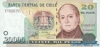 20000 Песо выпуска 2000 года, Чили. Подробнее...