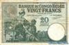 10 Франков выпуска 1929 года, Конго (Бельгийское Конго). Подробнее...